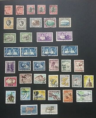 SWA South West Africa stamps mint & used