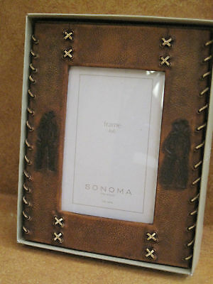 Picture Photo Frame Sonoma 4 x 6 NIB Western Cowboy South West Themed