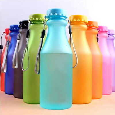 Fashion Portable Leak-proof Sports Travel Water Bottle Cup Cycling Camping 34