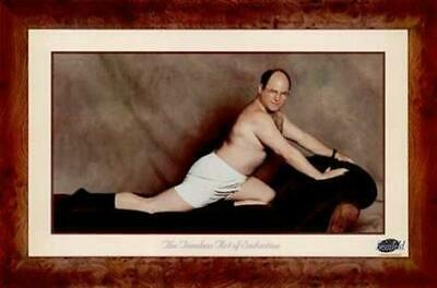 Seinfeld Poster The Art Of Seduction George Costanza