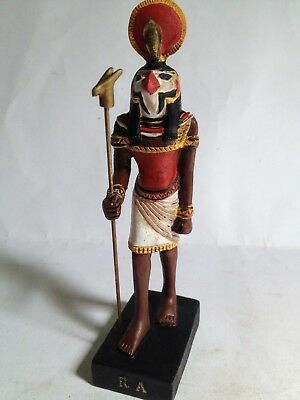 "RA God Ancient Egypt Resin figure 6.5"" egyptian Pharaoh new Agostini"