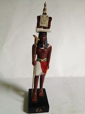 "KA God Ancient Egypt Resin figure 6.5"" egyptian Pharaoh new Agostini"
