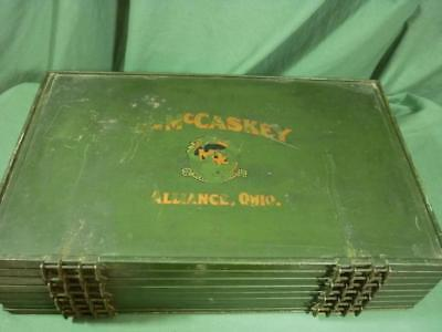 McCaskey Cash Register Reciept Account Holder Green  18E071