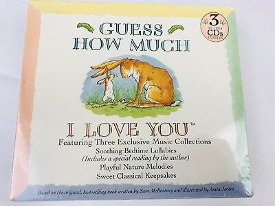 Guess How Much I Love You Music 3 CDs Lullabies Baby Box Set