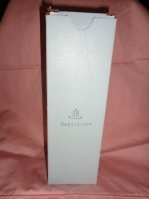 Partylite Pillar Candle Strawberry Rhubarb New In Box