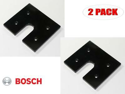 Bosch 2 Pack Of Genuine OEM Replacement Sub Bases # 2609100381-2PK