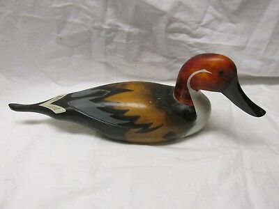 Vintage Wood Pintail Duck Decoy