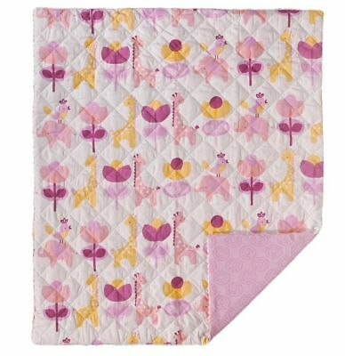 LOLLI LIVING SURINA QUILTED COMFORTER BABY COT QUILT BLANKET living textiles