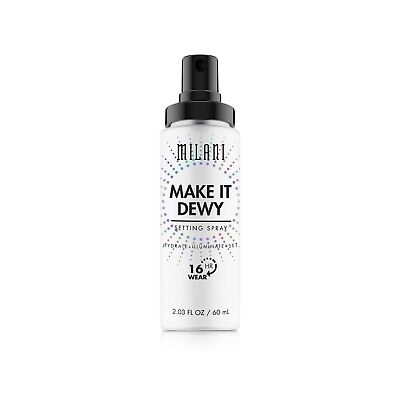 MILANI Make It Dewy Setting Spray 3-in-1 Hydrate + Illuminate +Set