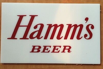 Hamm's Beer Starry Night Logo Plate Replacement - Fits Large and Small Sign