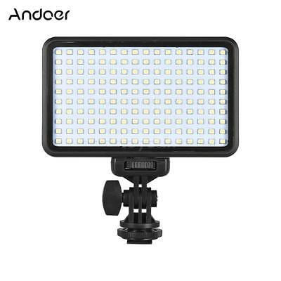 Andoer PAD160 LED Video Light 6000K Dimmable Fill Light Continuous Light N8R8