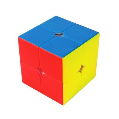 YuXin Little magic 2x2x2 Speed Contest Magic Cube Twist Puzzle Toys Multi-Color