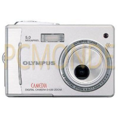 Olympus Camedia D-630 5MP Digital Camera with 3x Optical Zoom