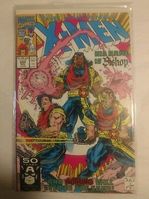1991 Marvel Comics Uncanny X-Men #282 Marvel Comic 1st Bishop Appearance!!! NM