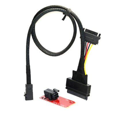 SFF-8639 NVME PCIe Solid State Disk Adapter Cable U.2 U2 Kit for Mainboard Intel