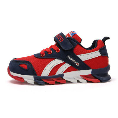 Children  Boys Girls Blade Base  Running Shoes Sports Athletic Sneakers Lace Up