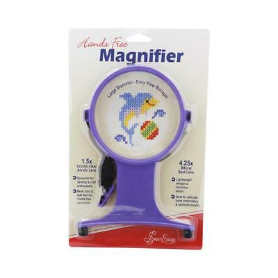 NEW Sew Easy Magnifier Hands Free Craft with Neck Cord By Spotlight