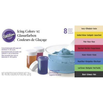 NEW Wilton Icing Colour Set By Spotlight