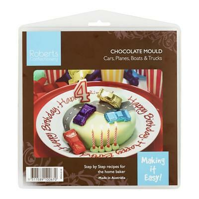 NEW Roberts Boys Themes & Cars Chocolate Mould By Spotlight