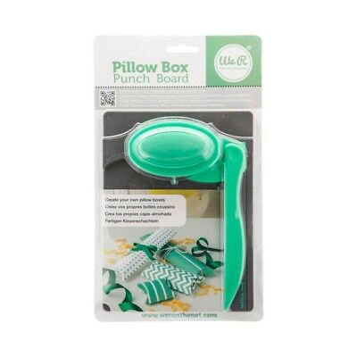 NEW We R Memory Keepers Pillow Box Punch Board By Spotlight