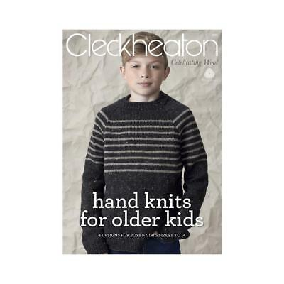 NEW Cleckheaton Country Handknits Older Kids Pattern Book By Spotlight