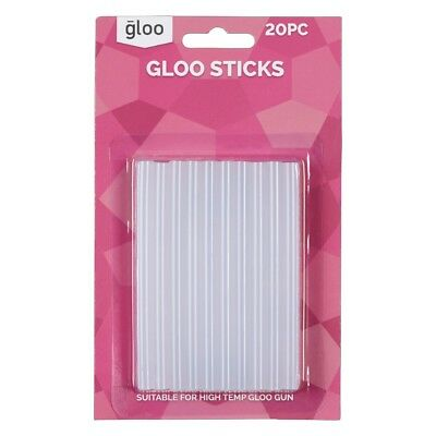 NEW Gloo High Temperature Glue Sticks By Spotlight