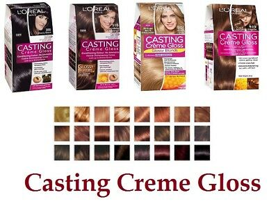 L'oreal Paris Casting Cream Gloss  Permanent Hair Dye  Ammonia Free