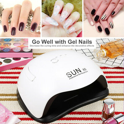 SUN X5 54W LED UV Nail Dryer Gel Polish Lamp Light Curing Manicure Machine NEW