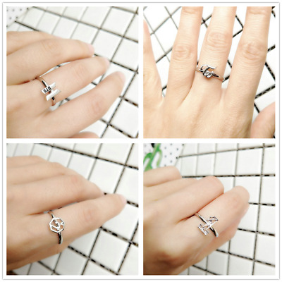 Fashion Kpop BTS Got7 Wanna One Twice Bangtan  Finger Ring Adjustable HOT