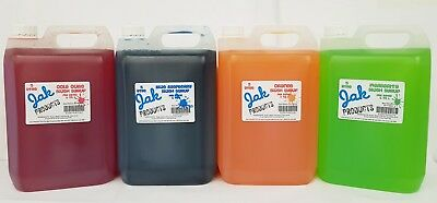 5 Litre Slush Snow Cone Slush Puppy Syrup - Choose Your Flavour From The Listing