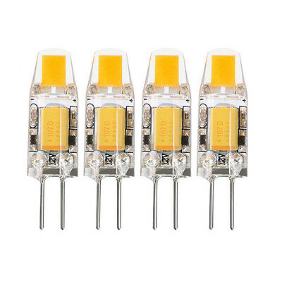 1/4/8/10X G4 LED COB Bulb Light  ACDC 12V Replace Halogen Lamp Warm White 2W/3W