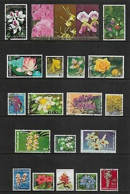 THAILAND mixed collection No.18, Flowers
