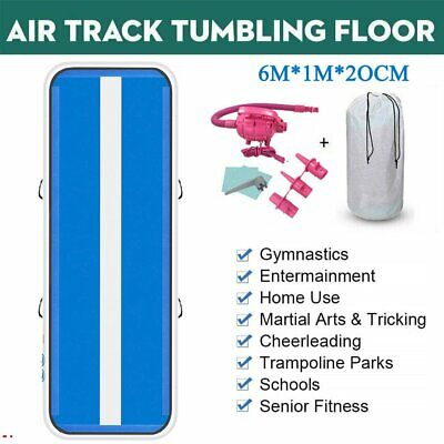 1X3m Air Track Tumbling AirTrack Inflatable Floor Home Gymnastics Yoga Mat GYM