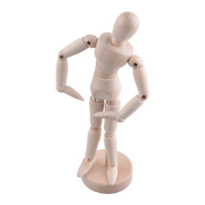 Wooden Human Mannequin 8 Inch Manikin Sketch Model Art/ARTIST Unisex Model Toy