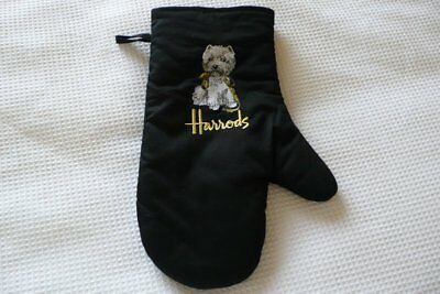 Harrods Oven Glove With Westie And Lead