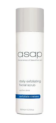 ASAP Daily Exfoliating Facial Scrub 200ml