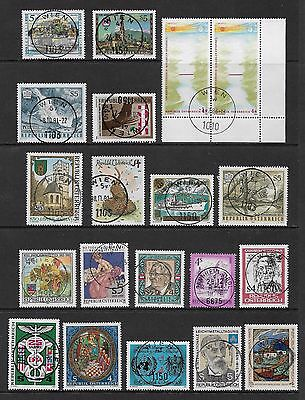 AUSTRIA - mixed collection No.46, postmark interest