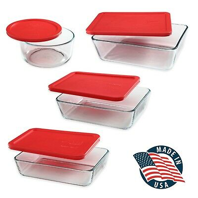 Pyrex Storage Plus Glass Food Storage Container Collection, BPA Free Made  In USA