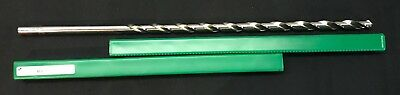 """Precision  France 1813 - 1/2"""" Extra Long HSS Twist Drill Bit in Case"""