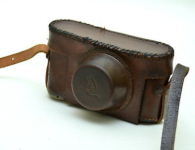 Leica Leather Ever Ready Camera Case For Leica II III Rangefinders