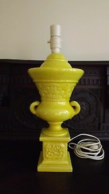Large Vintage Italian Urn Style Lamp Base - Mid-Century Table Lamp -