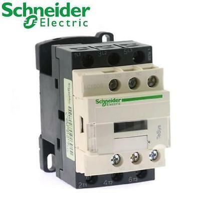 Schneider Electric Tesys D LC1D18BD 3 Pole Contactor, 3NO,18A, 9 kW, 24 vdc Coil