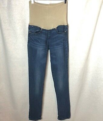 GAP MATERNITY Women's 1969 Always Skinny Over-Belly Jean Dark Wash Size 28/6R M