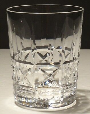 1 Vintage Waterford Crystal Kylemore Double Old Fashioned Tumbler Glass 4 3/8""