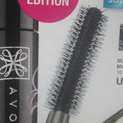 Avon SUPER SHOCK Mascara Volumen super Effekt  tiefschwarz