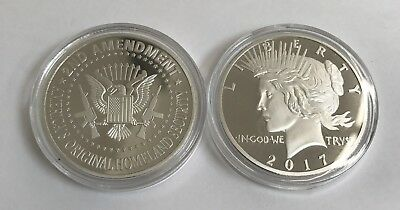 Limited Edition American Eagle Amendment SILVER Liberty Lady SpeciaL Round Coin