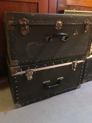 vintage trunk chest Ideal For Toys Dressing Up Clothes Linen