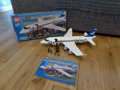 Lego City 7893 Passenger Plane 100 Complete With Instructions