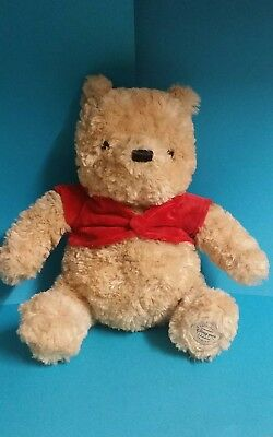 Disney Store stamped Winnie the Pooh Bear 12 inch Soft Plush Toy