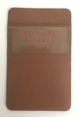Vintage Popular Library Books Advertising Pocket Protector School